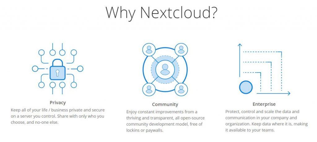 Pourquoi NextCloud ?