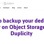 Object Storage Scaleway
